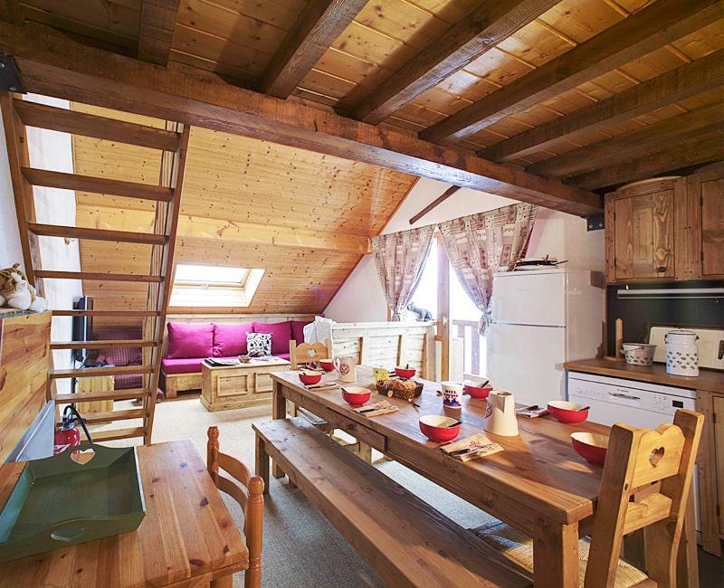 Rental Apartment In Chalet Pic De Savoie